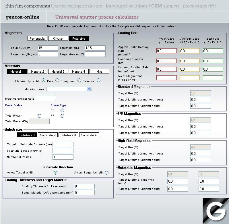 Gencoa Rate Calculation // Gencoa